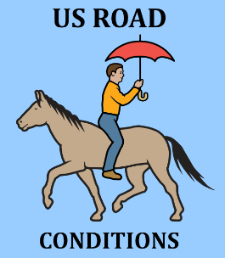 road conditions logo